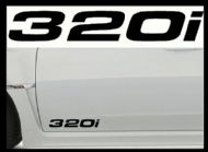 BMW 320i CAR BODY DECALS